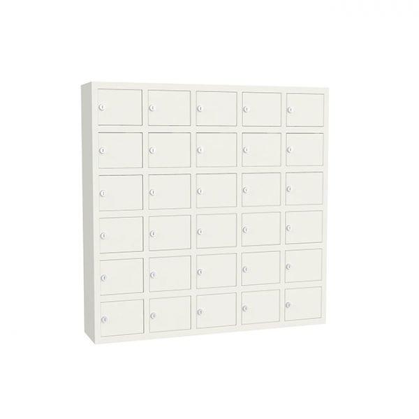 GSM lockers 30 vakken wit