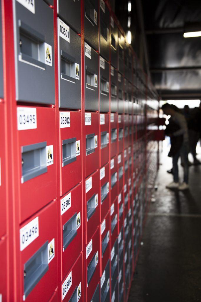 Key lockers